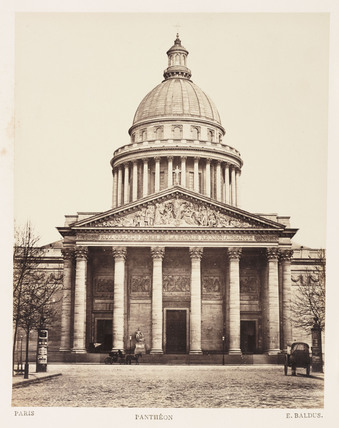 'Pantheon', Paris, c 1865.