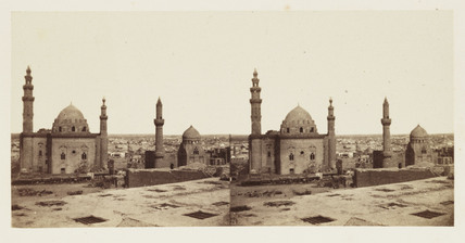 'The Mosque of Sultan Hassan, Cairo', 1859.