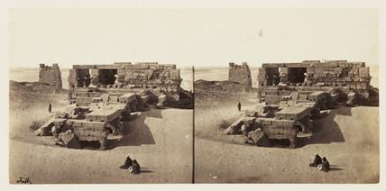 'General View of Koum Ombos', 1859.
