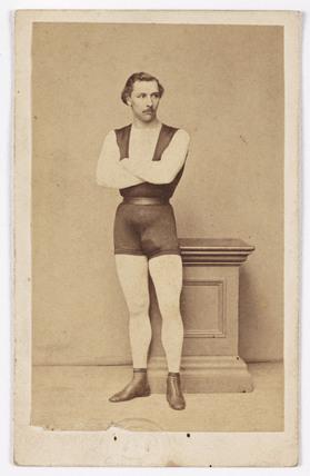 Leotard, c 1865.