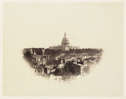 The Capitol, Washington DC, USA, 1867.