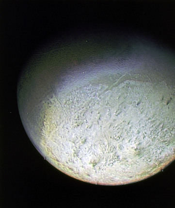 Detail of Triton, 25 August 1989.