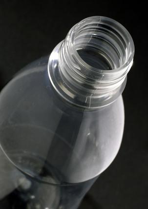 PET (polyethylene terephthalate) bottle, 1985.