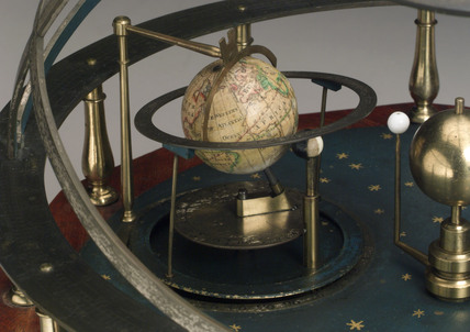 Orrery planetary model by Troughton, 1775-1799.