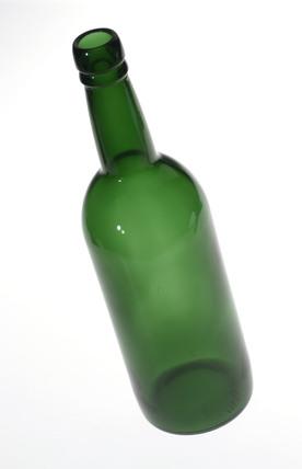 Port wine bottle, c 1968.