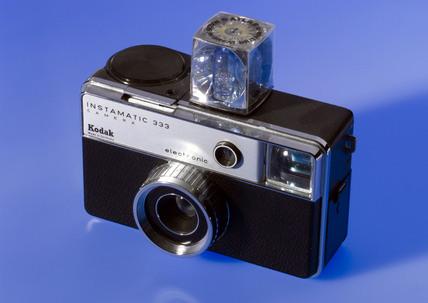 Kodak 'Instamatic 333', 126 cartridge camera, 1972.