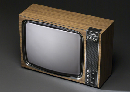 Ferguson black and white television receiver, model 3821, 1979.