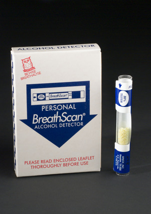 BreathScan alcohol detector, 1998.