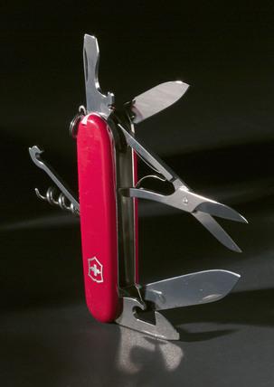 Victorinox 'Swiss Army' knife, 1999.