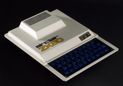 Sinclair ZX80 microcomputer, 1980.