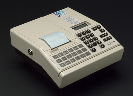 Electronic payment terminal, 1990-1998.
