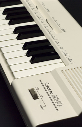 Casio 'Casiotone MT-30' electronic keyboard, 1980-1981.