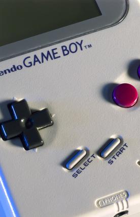 Nintendo 'Game Boy', 1989.