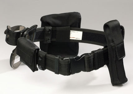 Metropolitan Police equipment belt, 1990s.