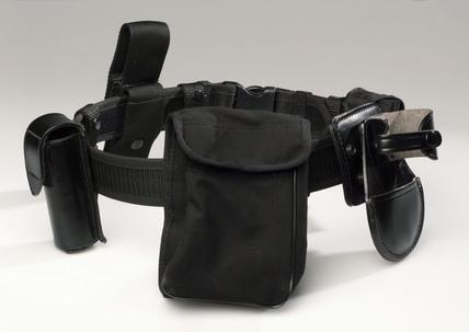 Metropolitan Police equipment belt, 1990s.