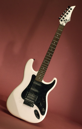 'Vision' electric guitar, 1990s.