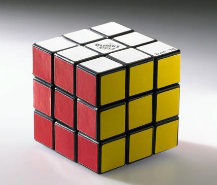 Rubik Cube puzzle, 1999.