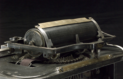 Remington No 1 typewriter, c 1876.