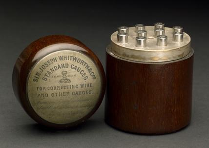 Whitworth standard gauges, 1869-1897.