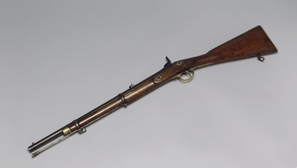 Enfield carbine rifle, c 1860.