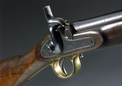 Enfield carbine rifle, c 1860.