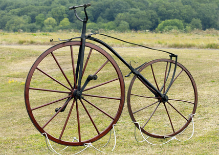 Boneshaker bicycle, c.1869 (Science Museum / Science & Society)