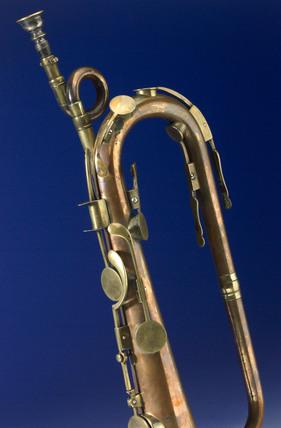 Keyed bugle, 1809.