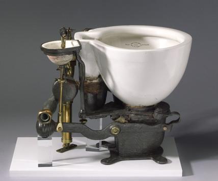 'Optimus' patent water closet, 1870.