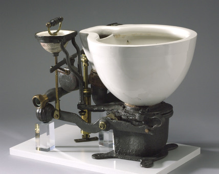 'Optimus' patent water closet, 1870.
