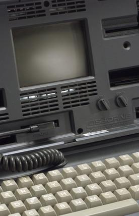 Osborne 01 microcomputer system, c 1982.