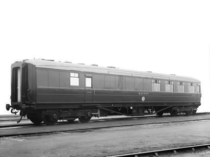 London & North Eastern Railway buffet car, 1960.