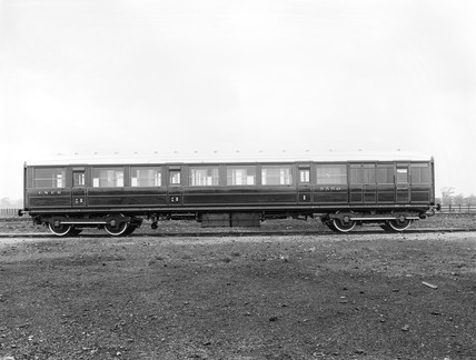 London & North Eastern Railway corridor carriage, 1926.