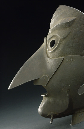 Iron mask, European, 1501-1700.