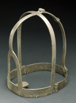 Scold's bridle, possibly English, European, 1601-1800.