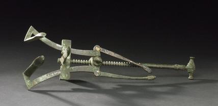Vaginal speculum, Roman, 199BC-79AD.