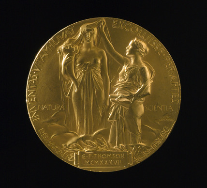 Nobel Prize for Physics, 1937.