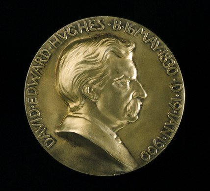 Hughes Medal of the Royal Society, London, 1939.