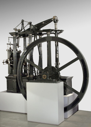 Beam engine, c 1840.