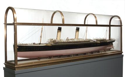 SS 'Oceanic', model, c 1899.