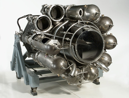 W2/700 Turbojet engine, 1944.
