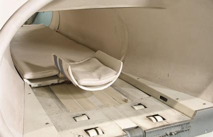 Mallard system Magnetic Resonance Imager (MRI) body scanner, 1983.