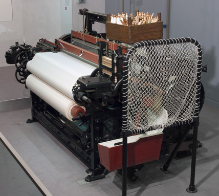 Toyoda Automatic Loom, type G, 1926.