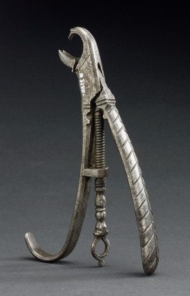 Dental forceps, German, 1770-1800.