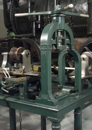 Boring machine, yard No 642, early 19th century.