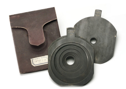 Parts for 'Special' rectilinear lens, 19th century.