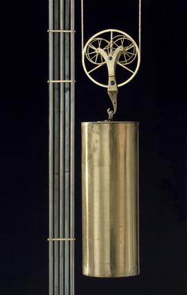 Detail of Vulliamy's regulator clock, c 1780.