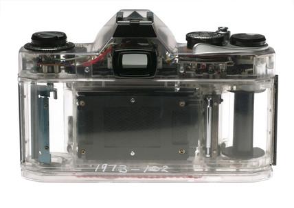 Asahi Pentax 'Spotmatic II' camera body, 1973.