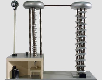 One Million-Volt Particle Accelerator, 1938.