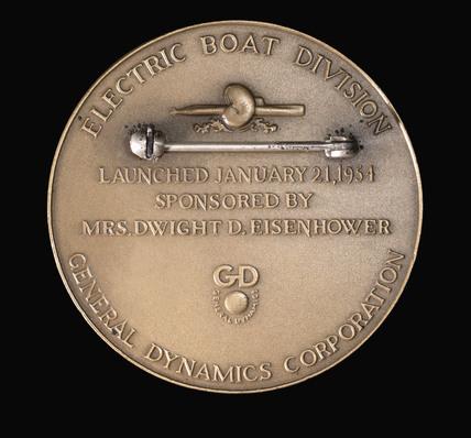 USS Nautilus medal, 1954.