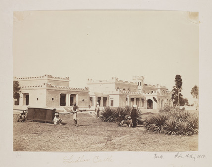 'Ludlow Castle', 1858.